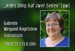 Nachruf Gabrielle Angelstein